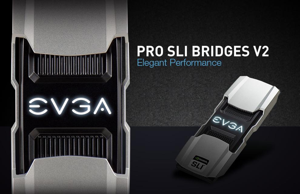 Imagem de EVGA lança Pro SLI Bridges V2 que prometem melhor desempenho em 4K no tecmundo