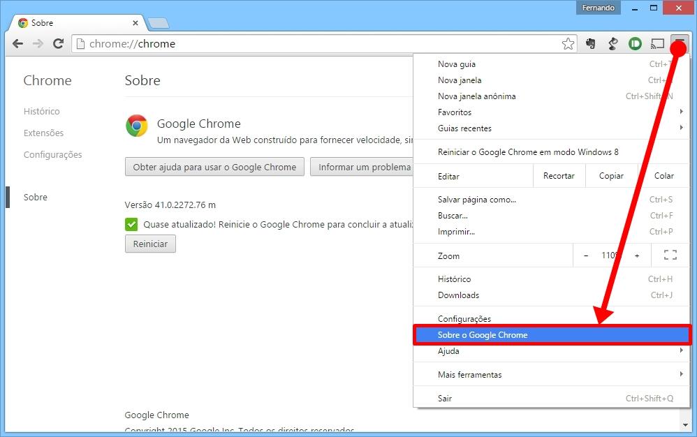 13 dicas para acelerar o google chrome no seu pc tecmundo atualizado de suma importncia para que voc esteja utilizando o mximo do seu potencial no google chrome voc pode conferir se existe algum update ccuart Gallery