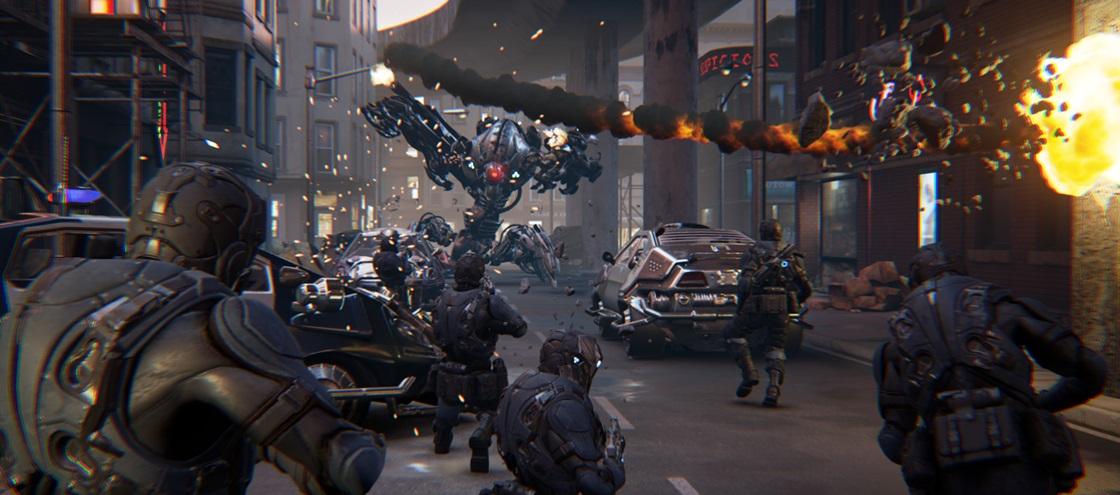 """Imagem de Demonstração """"Showdown"""" da Epic Games roda a 120 Hz no Project Morpheus no tecmundo"""