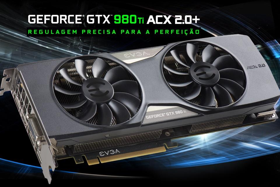 Imagem de EVGA apresenta oito variações da GeForce GTX 980 Ti no tecmundo