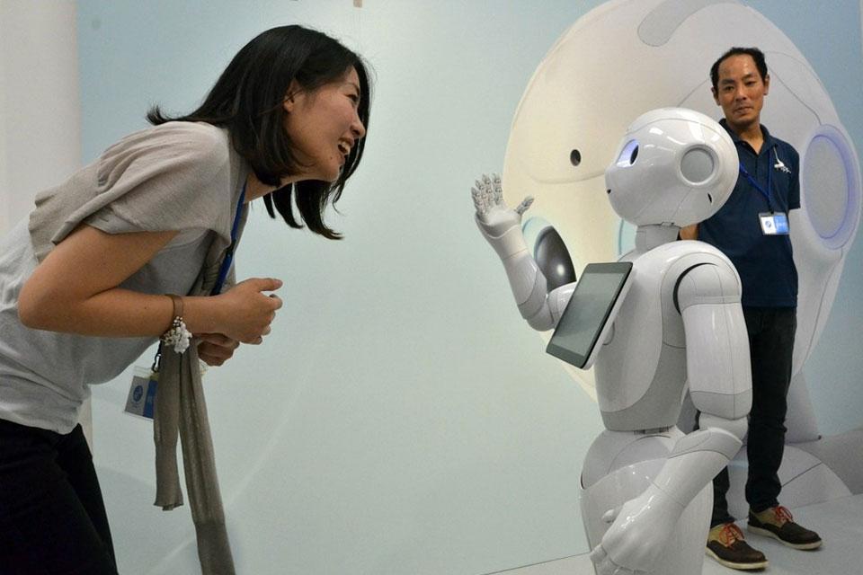 Imagem de No Japão, já está à venda Pepper, o robô que compreende as emoções humanas no tecmundo