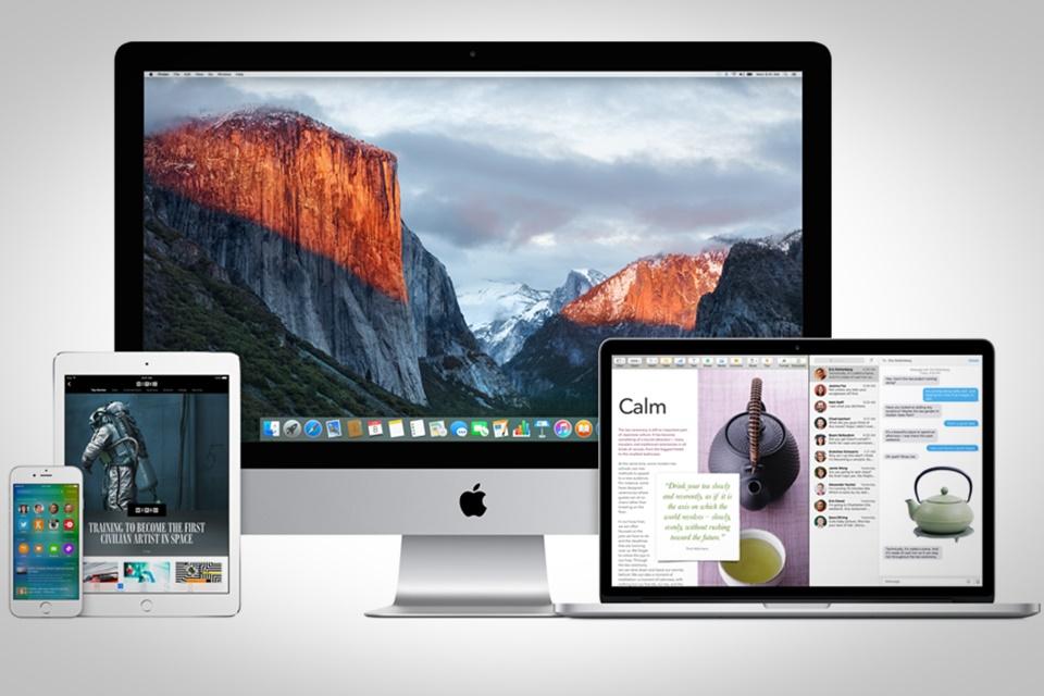 Imagem de iOS 9, OS X El Capitan, Xcode 7 e watchOS ganham nova versão na fase Beta no tecmundo