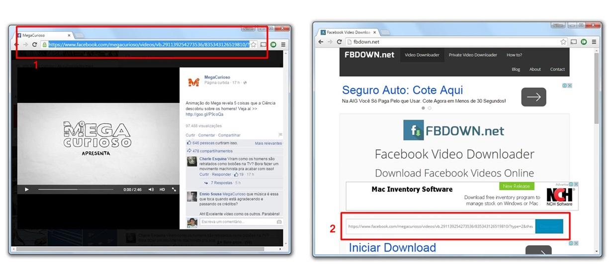 como fazer download video facebook android