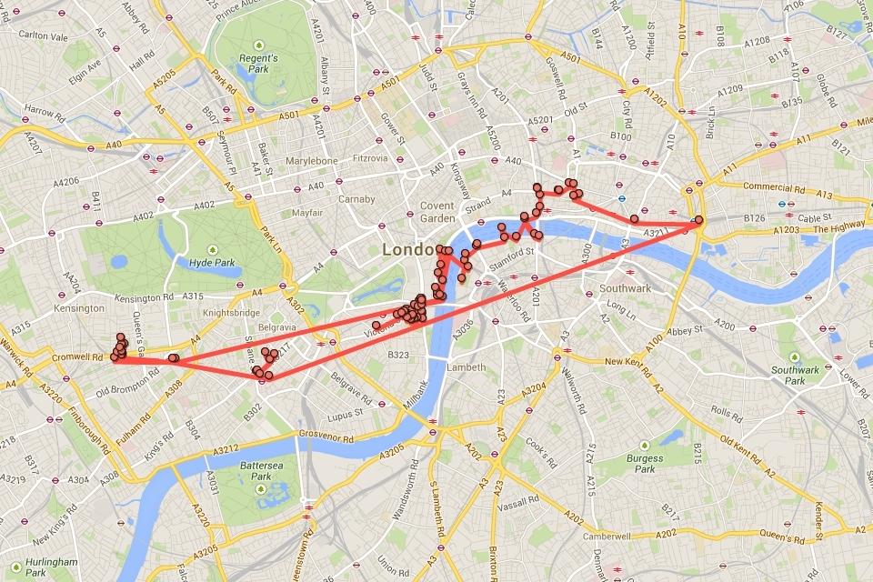 Imagem de Google Maps trouxe linha do tempo com todos os locais para onde você já foi no tecmundo