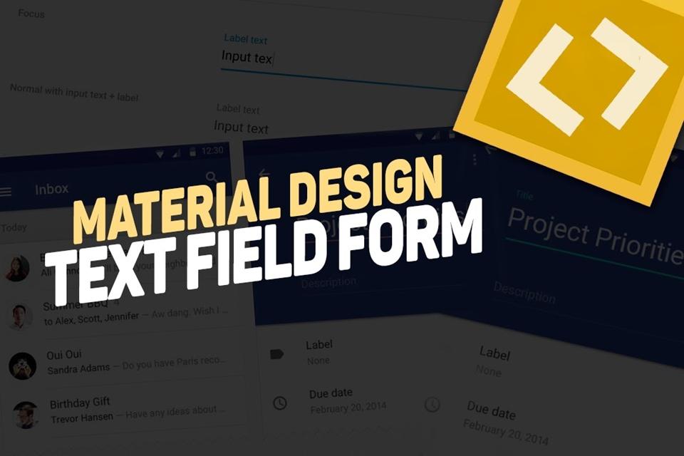 Imagem de Videoaula: 'text field' - Material Design (CSS3/HTML5/JS/JQUERY) [vídeo] no tecmundo