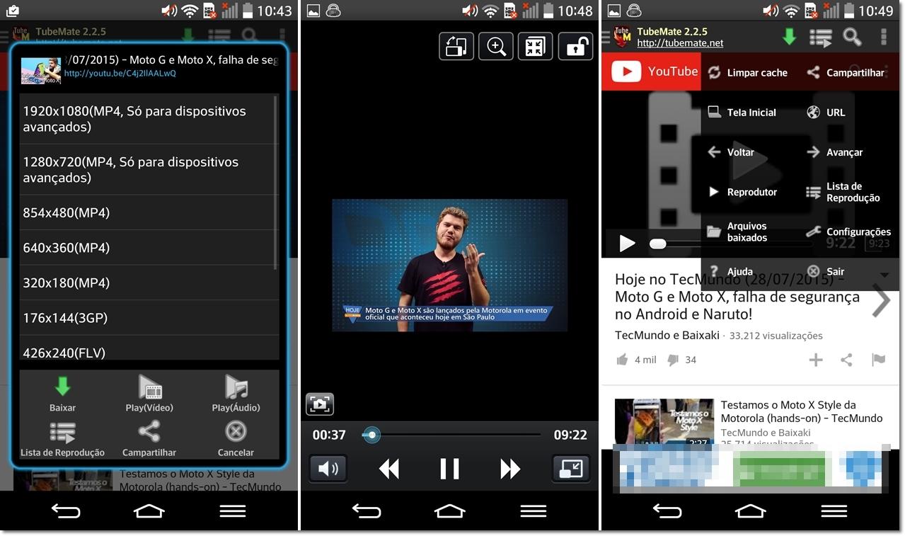 Android como baixar vdeos do youtube e reproduzi los em modo determine a resoluo na qual o vdeo dever ser salvo clique sobre baixar e pronto ccuart Images