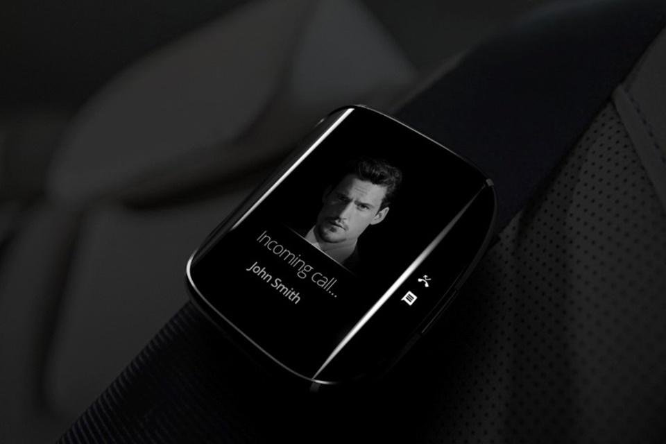 """Imagem de Conceito: como seria um smartwatch Samsung com """"tela Edge""""? no tecmundo"""