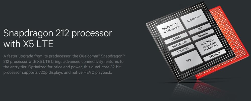 Resultado de imagem para Qualcomm Snapdragon 212