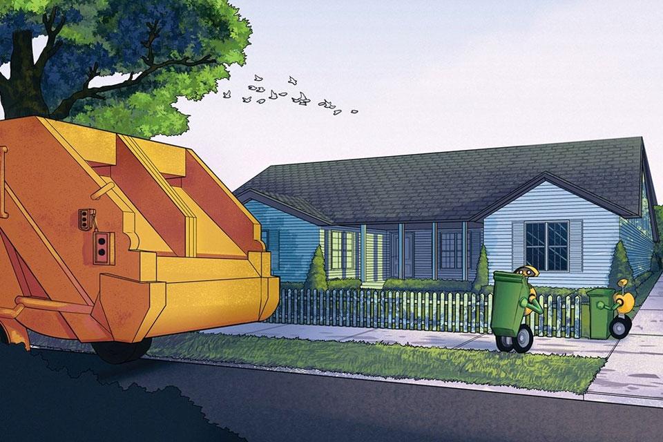 Imagem de Robôs-lixeiros: Volvo vai criar autômatos que ajudam na coleta do lixo no tecmundo