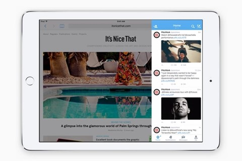 Imagem de iPad: como usar o multitarefa, Slide Over e Picture in Picture no iOS 9 no tecmundo