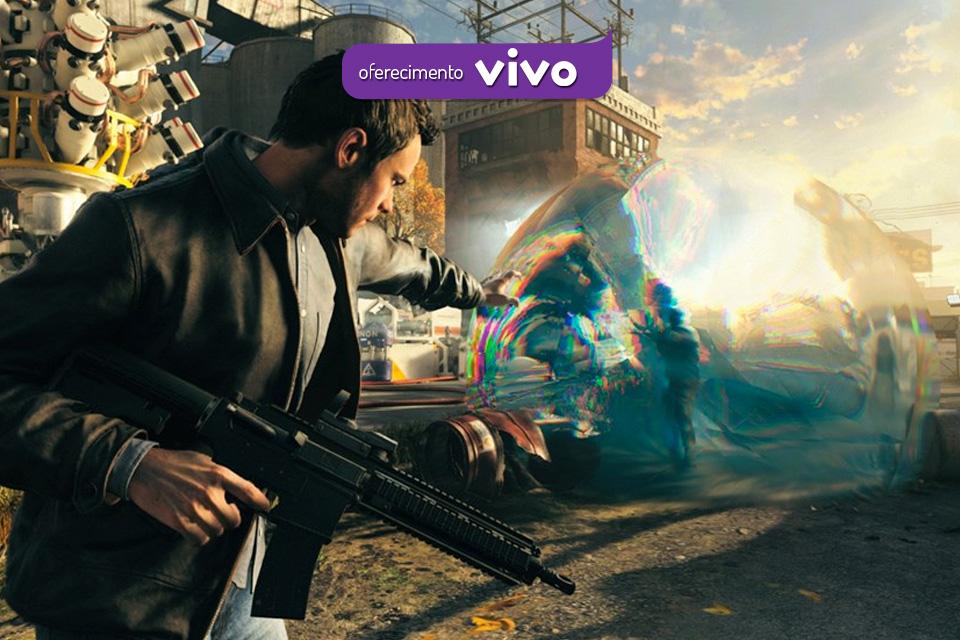 Imagem de Quantum Break na BGS: experiência é cinematográfica e evolui o bullet-time no tecmundo