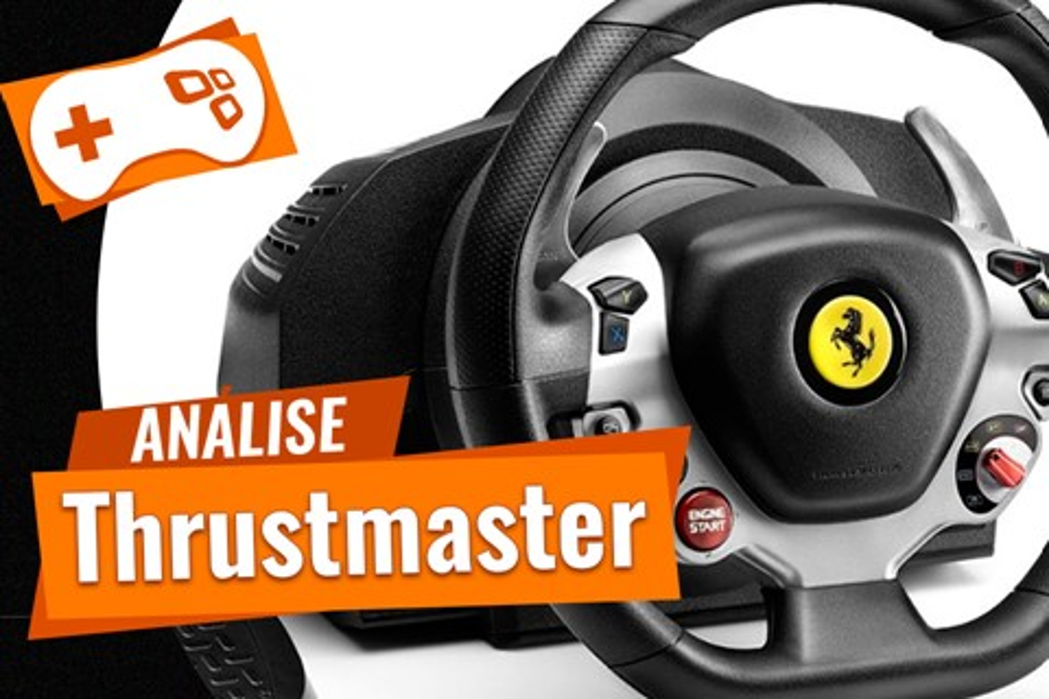 Imagem de Análise: volante Thrustmaster TX Racing Wheel Ferrari 458 Italia Edition no tecmundo