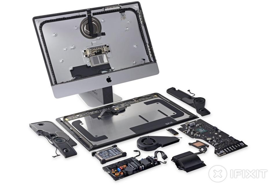 """Imagem de Novo iMac 21,5"""" é dificílimo de ser reparado ou ter peças trocadas no tecmundo"""