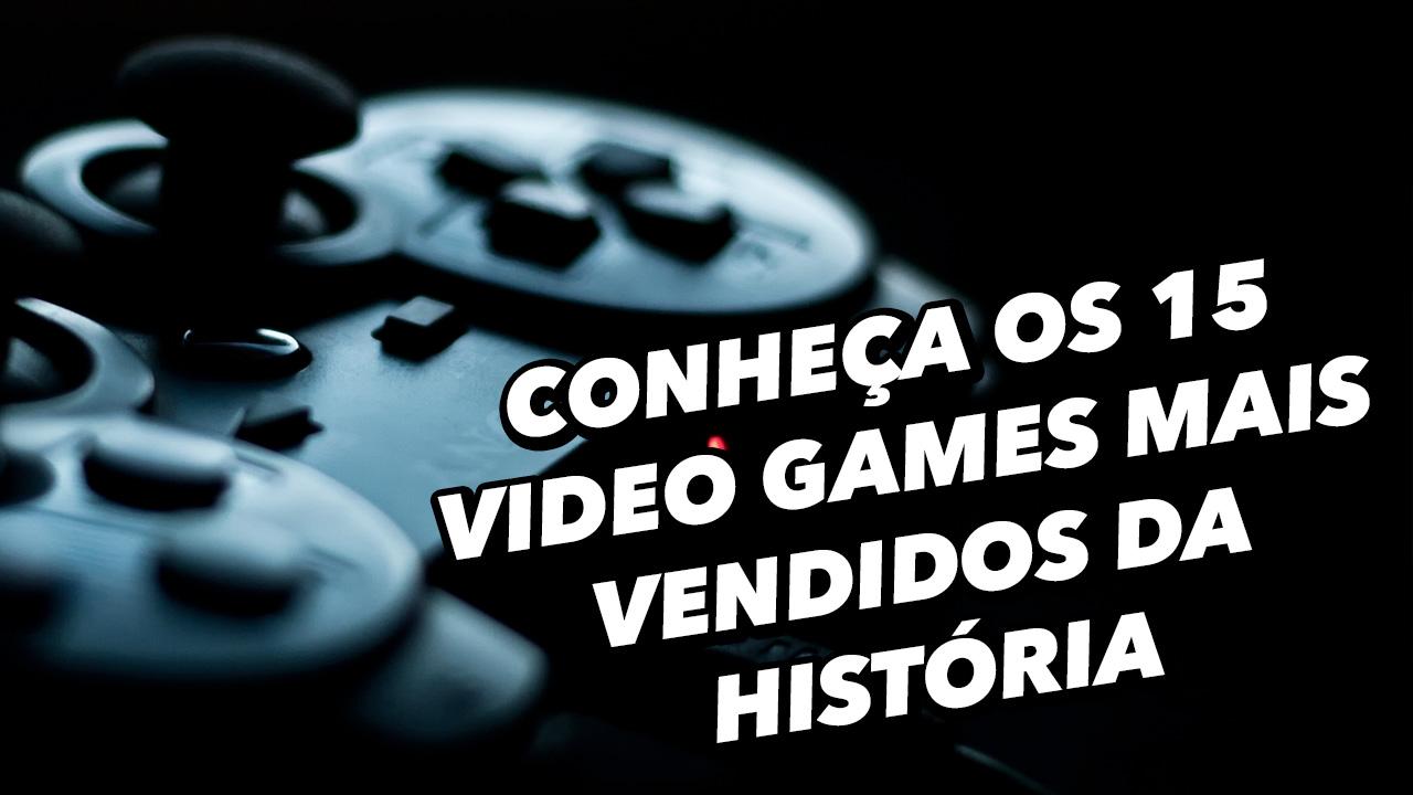 Imagem de Conheça os 15 video games mais vendidos da História [vídeo] no tecmundo