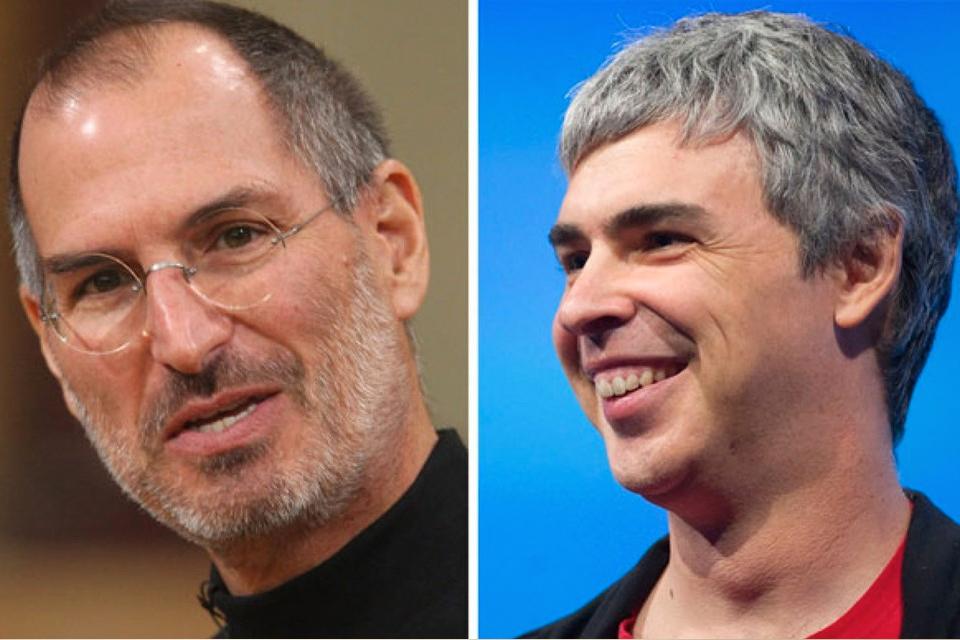 Imagem de Larry Page diz que ele e Steve Jobs acertaram, apesar de terem diferenças no tecmundo
