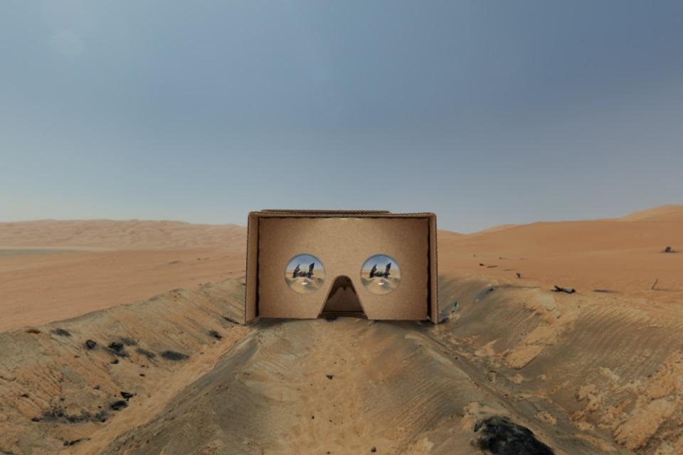 Imagem de Star Wars VII: vire um agente secreto da Resistência em aventura de RV no tecmundo