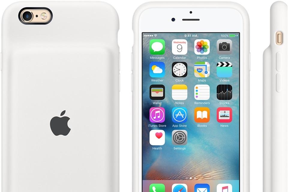 Imagem de Menos piadas e tomadas: iPhone 6 e 6s ganham case oficial com bateria extra no tecmundo
