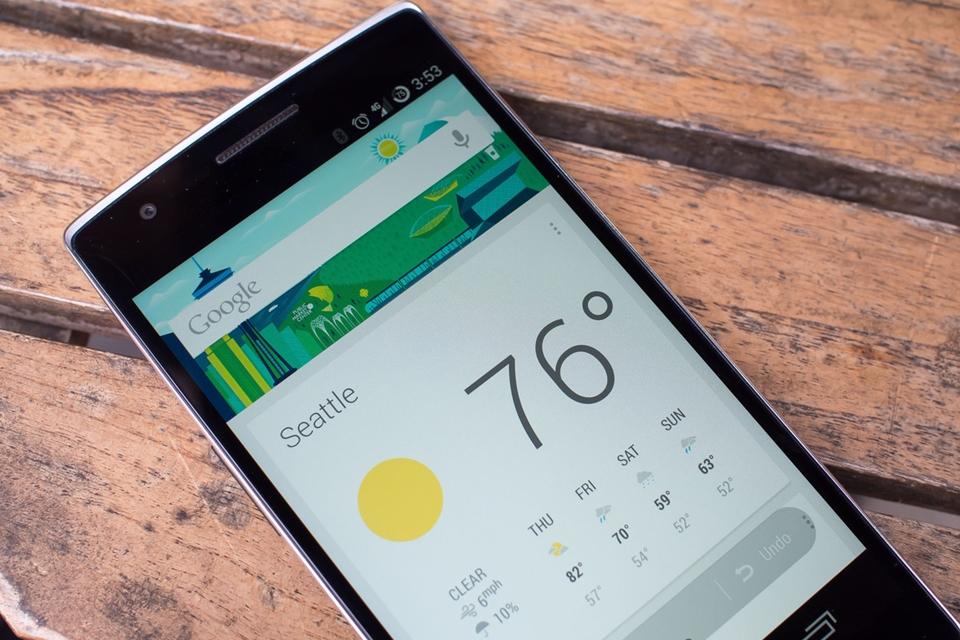 Imagem de Agora cards de previsão do tempo do Google Now são coloridos e mais úteis no tecmundo
