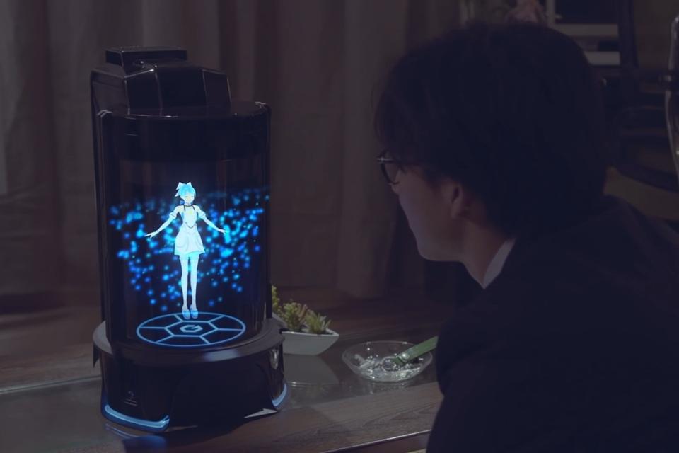 Imagem de Empresa japonesa cria assistente virtual com IA em forma de holograma no tecmundo