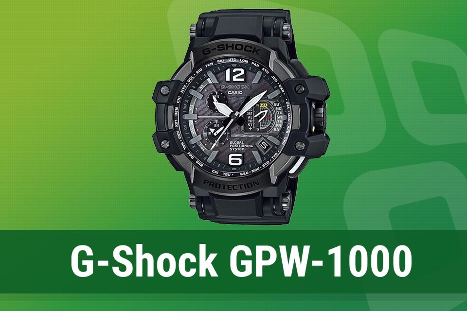 Imagem de Análise: relógio Casio G-SHOCK Gravitymaster GPW-1000 no tecmundo