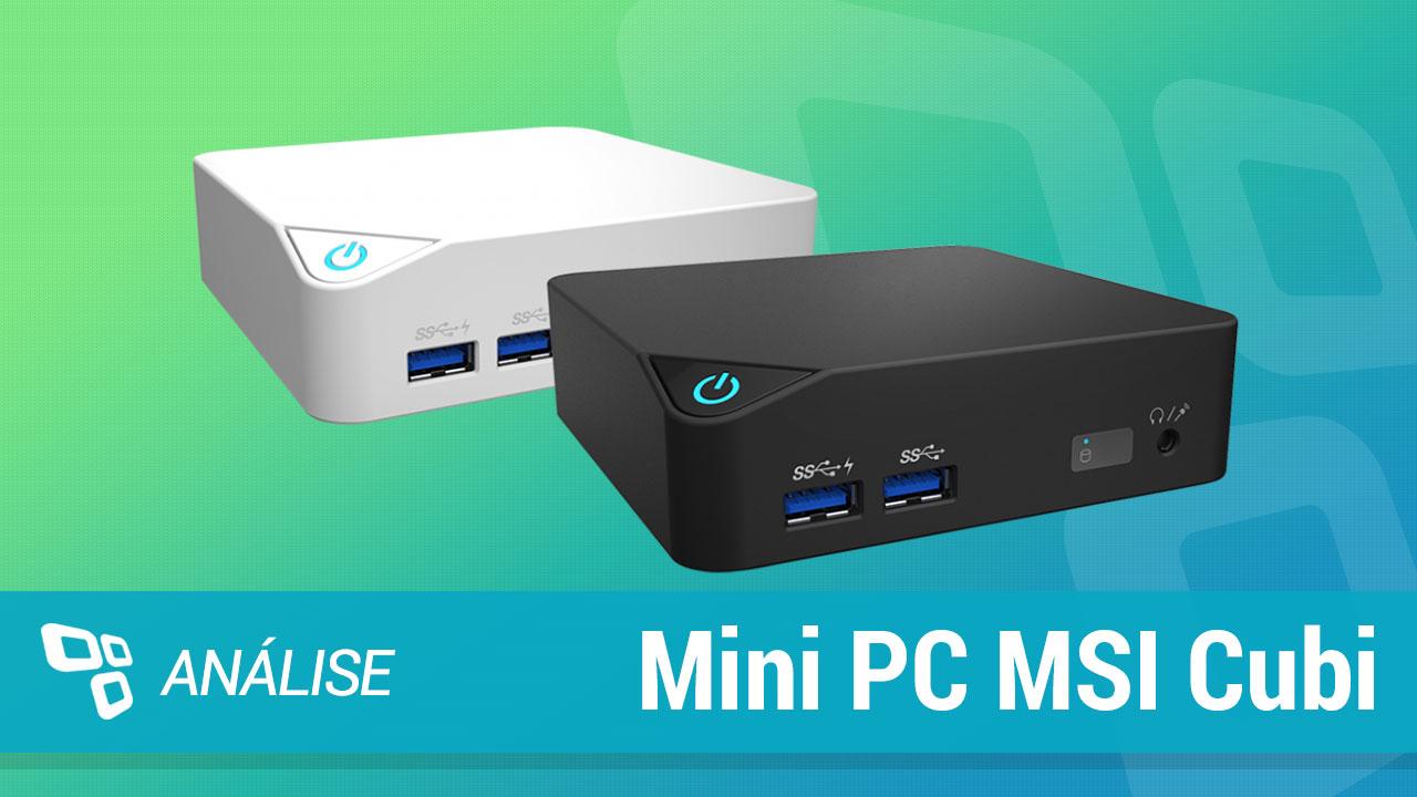 Imagem de Review: Mini PC MSI Cubi com Intel Core i5 no tecmundo