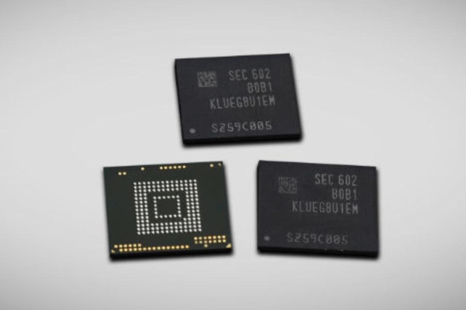 Imagem de É muita coisa: Samsung revela memória flash insana de 256 GB no tecmundo