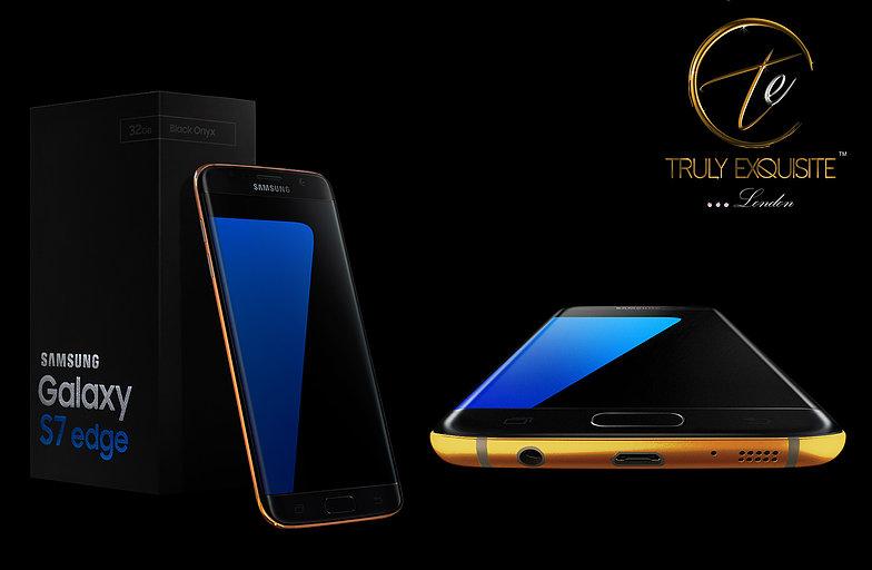 Conheça o Galaxy S7 e o S7 Edge banhados a ouro 24K