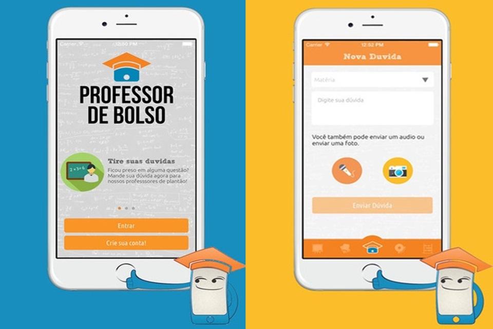 Imagem de App ''Professor de bolso'' tira dúvidas na hora sobre qualquer matéria no tecmundo