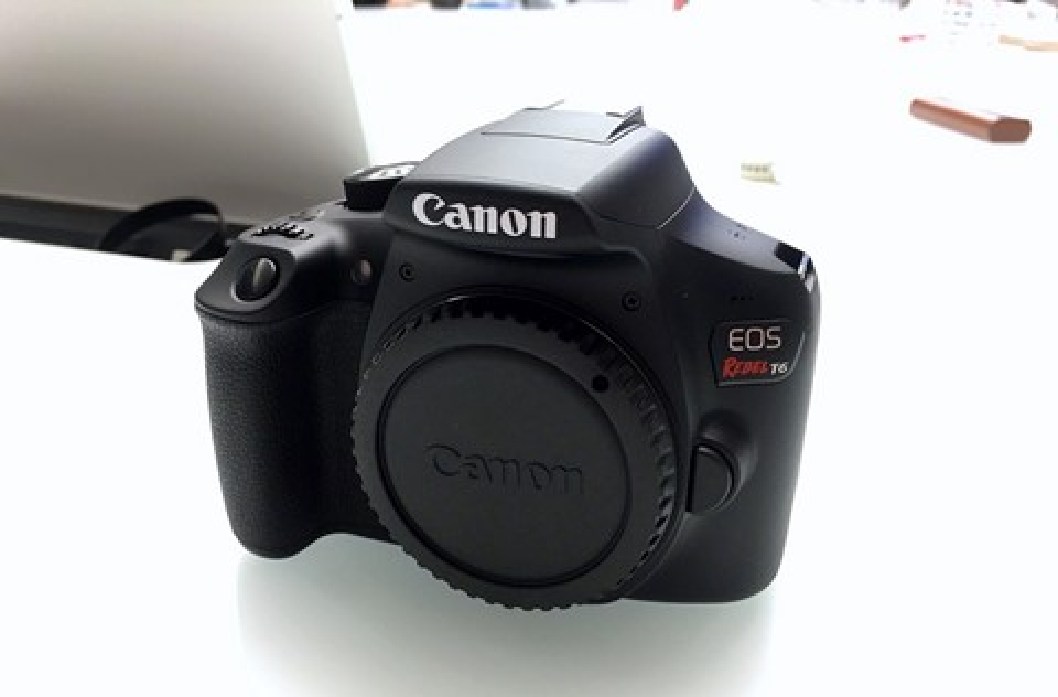 Imagem de Canon EOS Rebel T6 DSLR é lançada mirando fotógrafos amadores no tecmundo