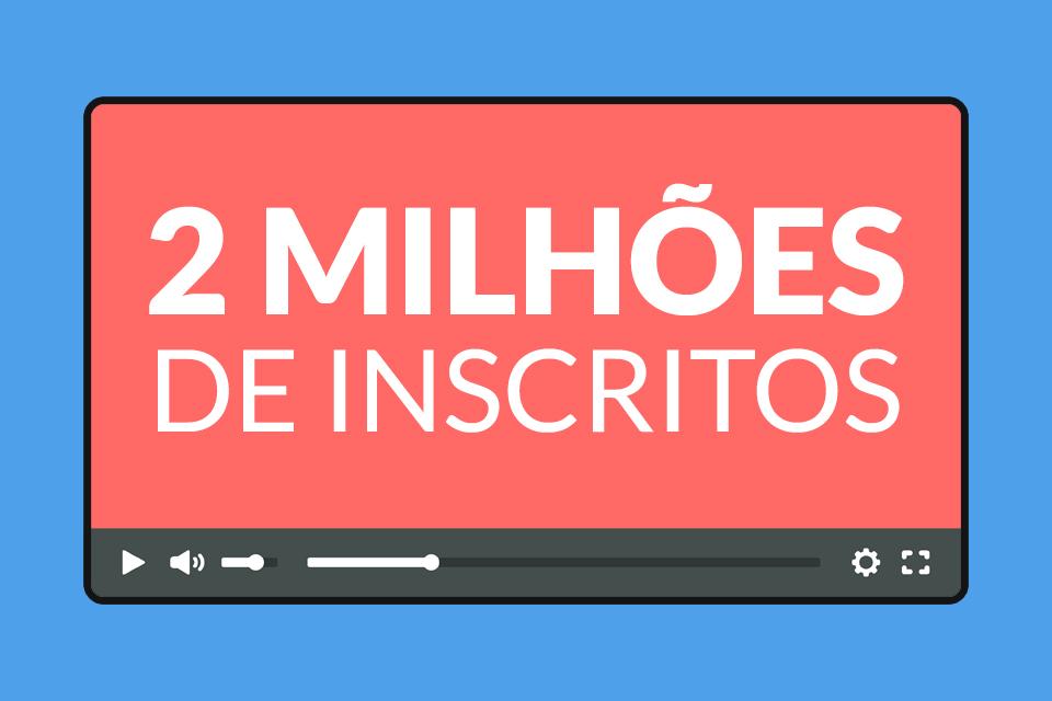 Imagem de Obrigado! O canal do TecMundo chegou a 2 milhões de inscritos no YouTube no tecmundo