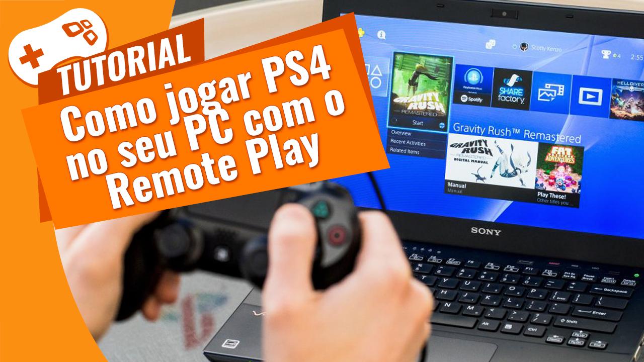 Imagem de Como jogar PS4 no PC com o Remote Play no tecmundo