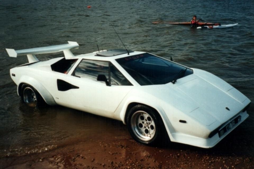 Imagem de Lamborghini Countach anfíbio é anunciado no ebay por R$ 97 mil no tecmundo