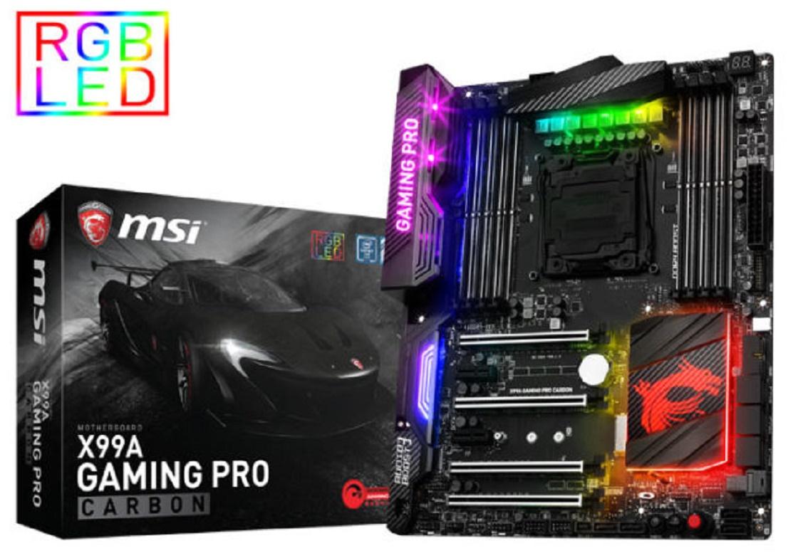 Imagem de MSI X99A Gaming Pro Carbon vai contar com suporte para Intel Broadwell no tecmundo