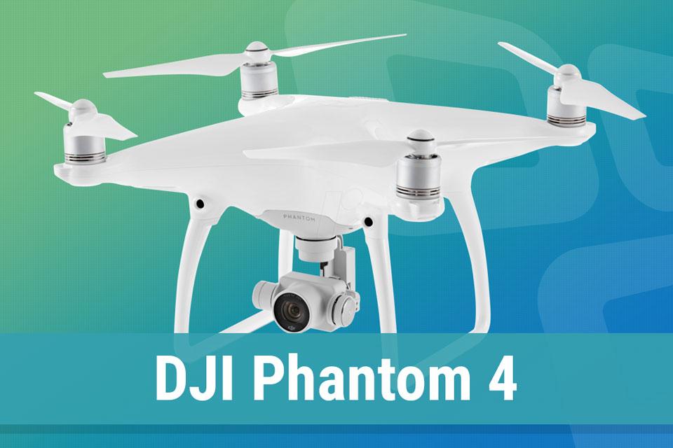 Imagem de Análise: drone DJI Phantom 4 no tecmundo