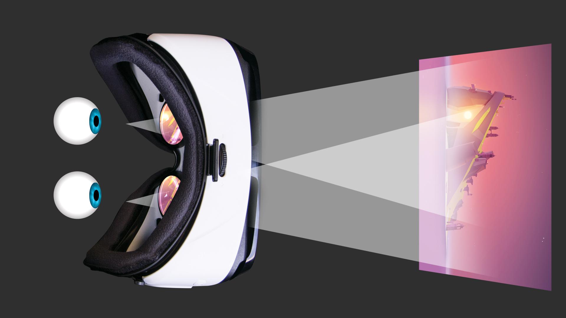 4506fea56 É bem simples: o celular é programado para dividir a imagem em duas partes,  e o seu cérebro já está acostumado a interpretar essa diferença nas imagens.