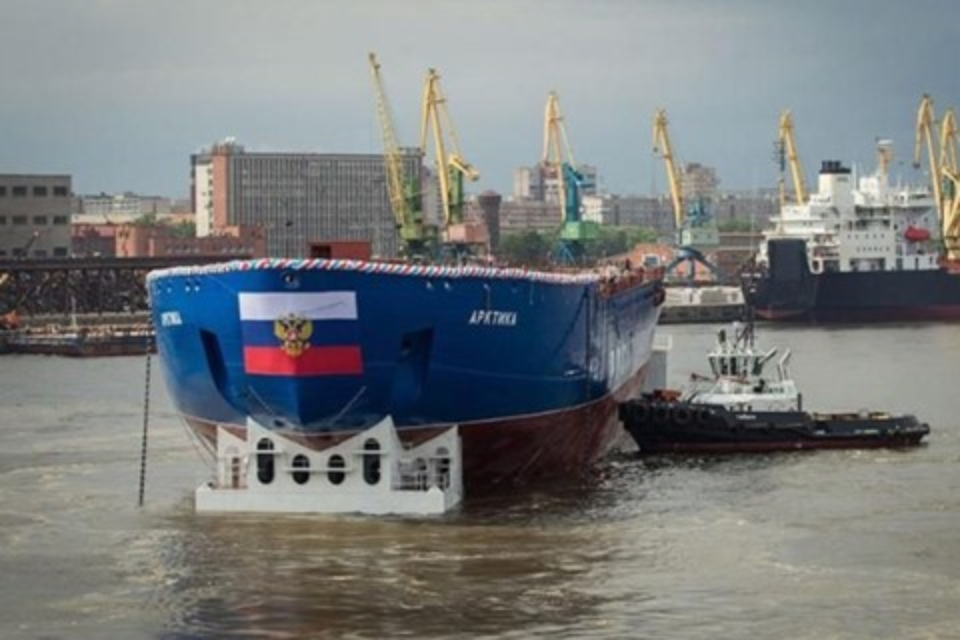 Imagem de Navio russo é o maior e mais poderoso quebra-gelo do mundo [vídeo] no tecmundo