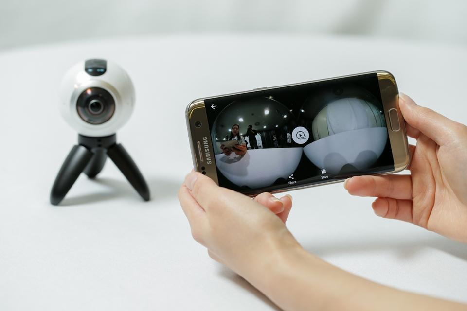 Imagem de Aprenda a controlar o Gear 360 da Samsung usando qualquer smartphone no tecmundo