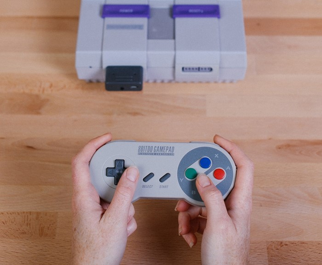 Nostalgia sem fio: adaptador bluetooth para SNES é lançado