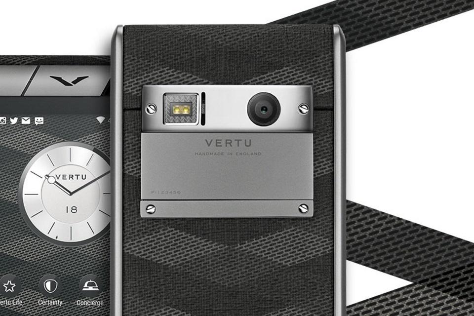 Imagem de Vertu Aster Chevron é um Android que custa mais de R$ 13 mil no tecmundo