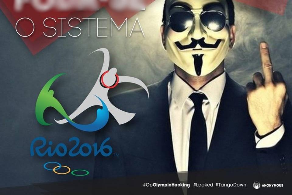 Imagem de Rio 2016: Anonymous intensifica ataques e derruba 6 bancos de dados no tecmundo