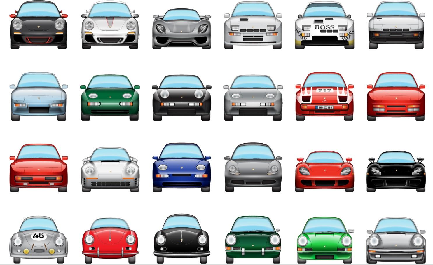 Imagem de Se você já tem o iOS 10, precisa destes emojis de Porsche na sua vida no tecmundo