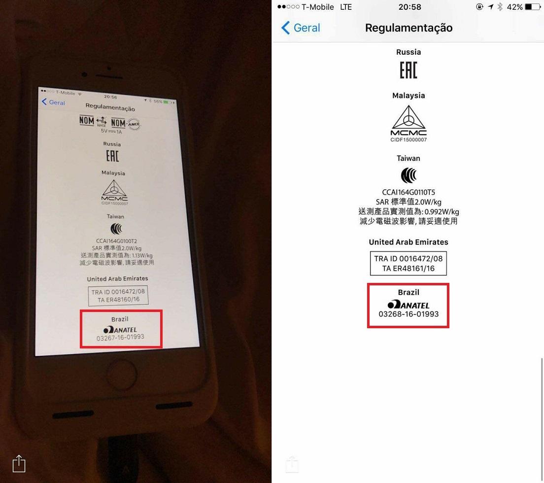 Está chegando! Apple iPhone 7 ganha assinatura da Anatel