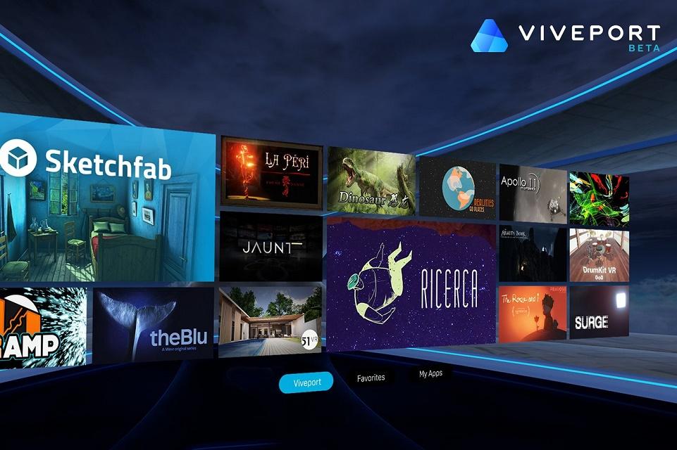 Imagem de HTC lança hoje nova loja de apps para realidade virtual no tecmundo