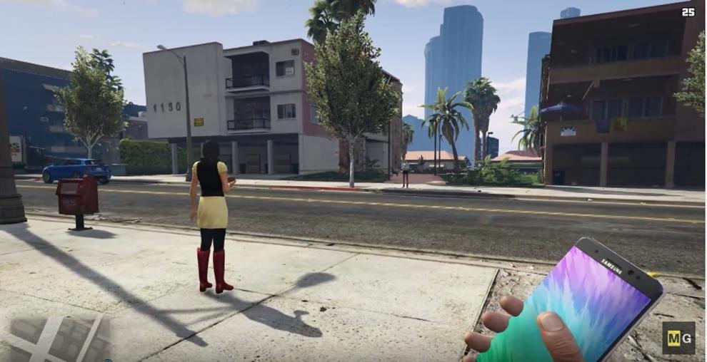 Imagem de Genial: Galaxy Note 7 vira artefato explosivo em mod de GTA 5 [vídeo] no tecmundo