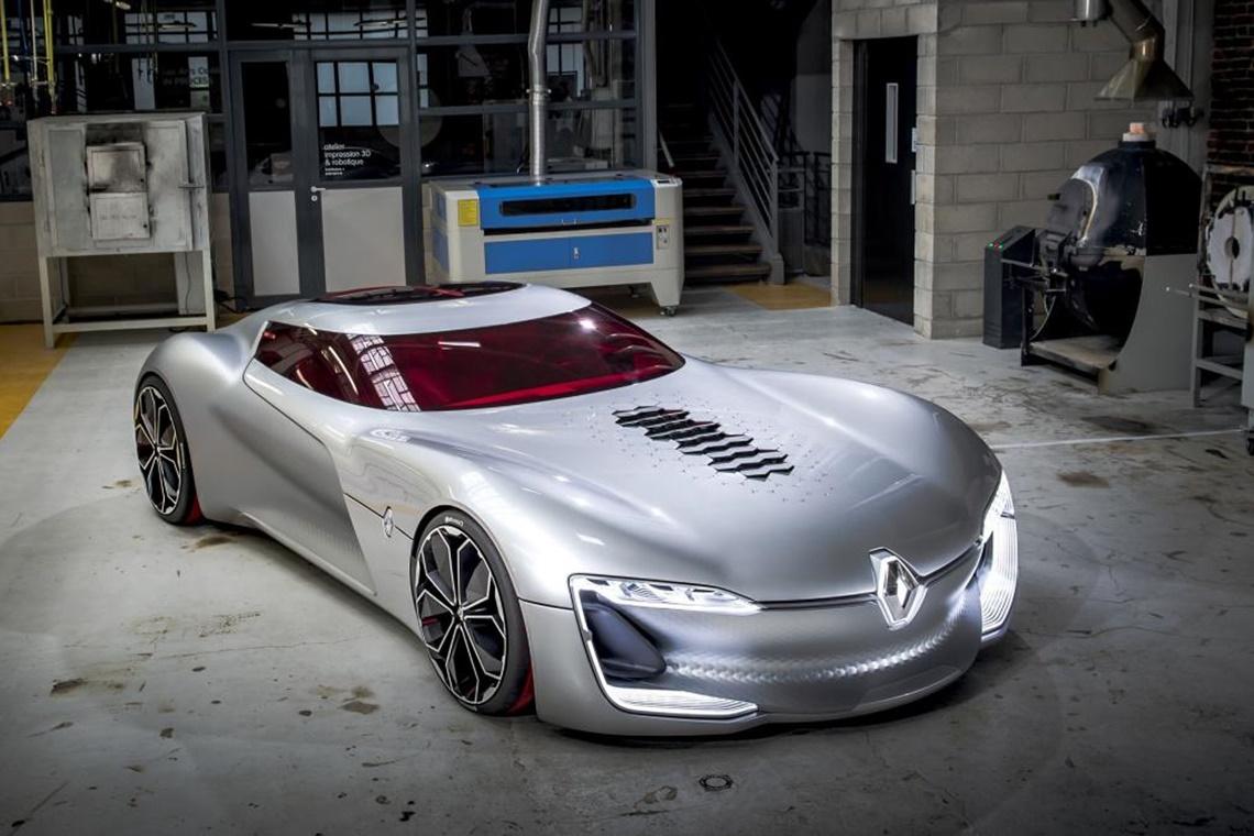 Imagem de Renault mostra o Trezor, seu carro que tem o amor como inspiração no tecmundo