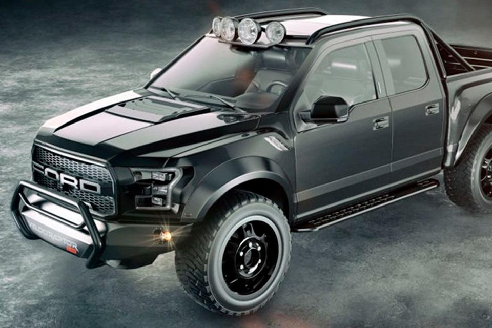 Imagem de Esta é uma Ford F-150 Raptor de 600 cavalos e tração 6x6... Porque sim! no tecmundo