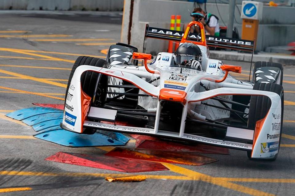 Imagem de Faraday Future mostra seu carro para a Formula E e ele é uma obra de arte no tecmundo