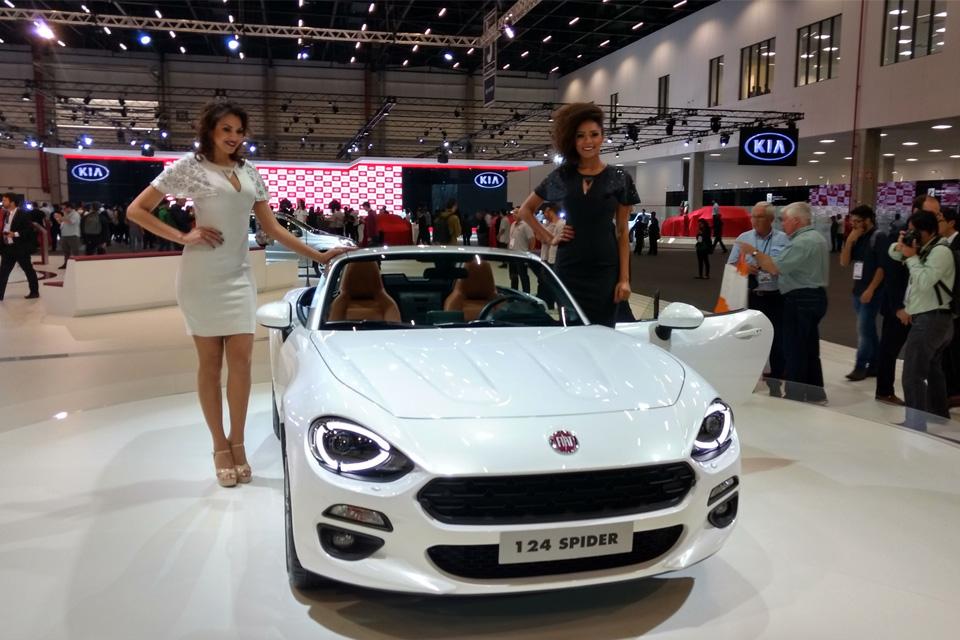 Imagem de Fiat traz 124 Spider e mostra novas tecnologias para seus carros no tecmundo