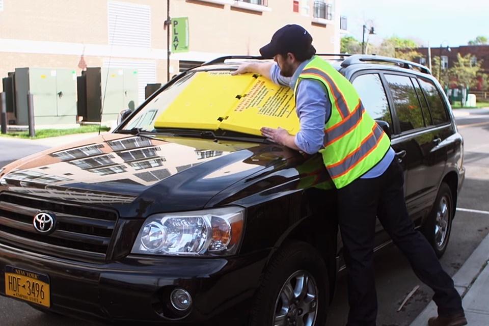 Imagem de Nos EUA, tampar para-brisa é punição para quem estacionar em local proibido no tecmundo