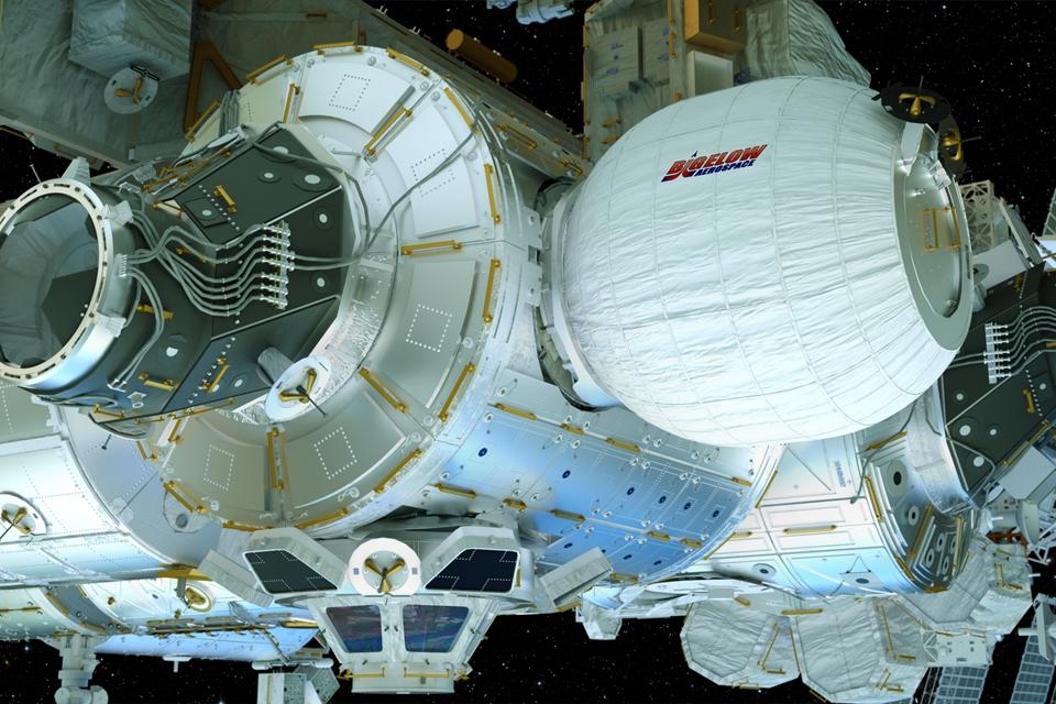 Imagem de Módulo inflável habitável em órbita funciona bem após seis meses de testes no tecmundo